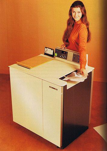 cool retro copy machine  - love retro/nostalgic items!