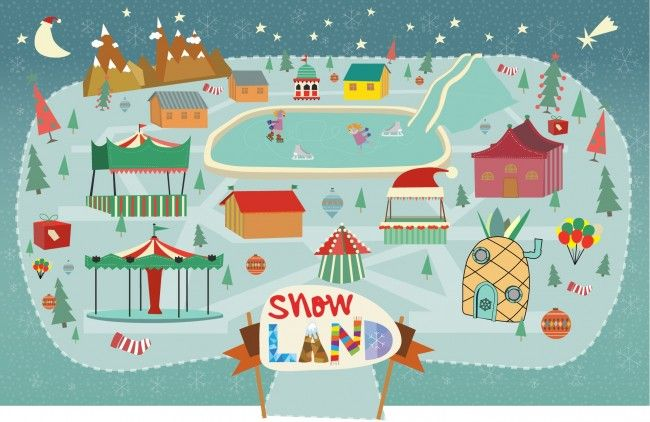 SNOWLAND – Στο Ο.Α.Κ.Α. (Χριστούγεννα 2014-2015) - Μια νέα πόλη χτίστηκε στο Ολυμπιακό Στάδιο της Αθήνας! Μια μαγική, χιονισμένη...