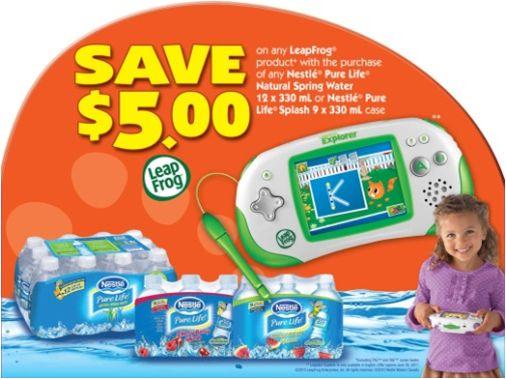 Nestle Waters - Leapfrog Cross-Promotion POS