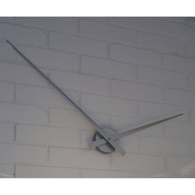 Horloge Karlsson Géante Grise Mat