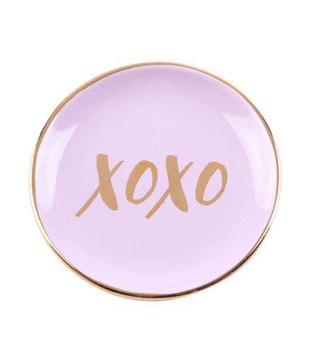 XOXO Jewelry Dish