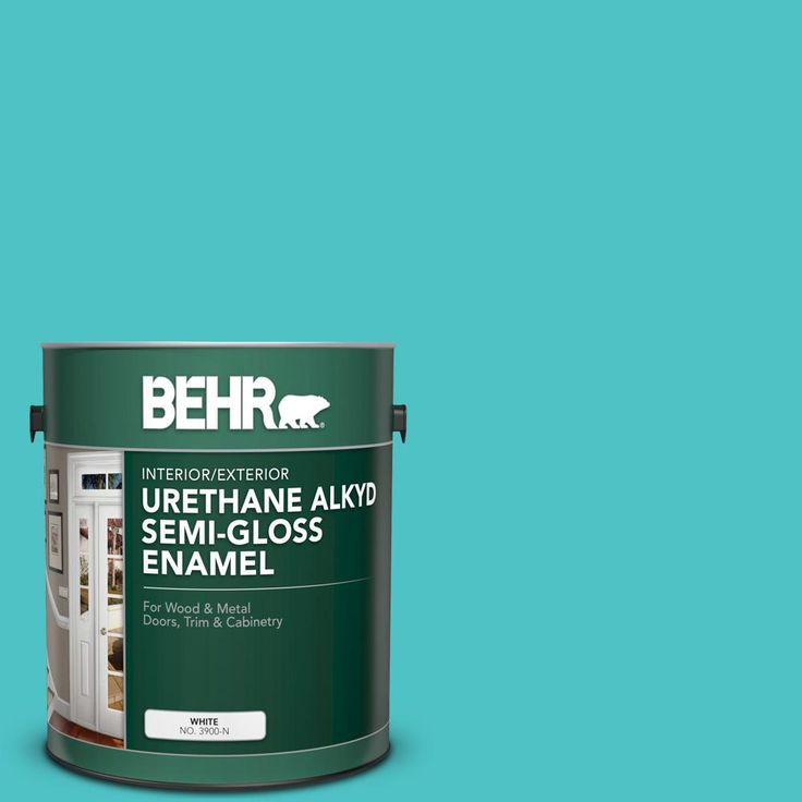 Behr Paint Color Gem Turquoise