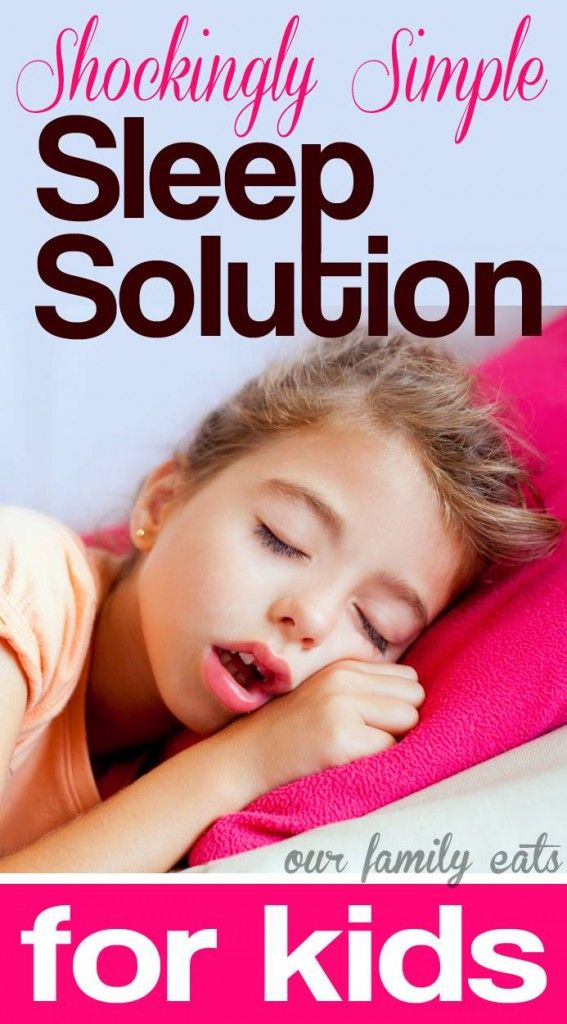 Solve sleep issues with this easy and all natural solution.