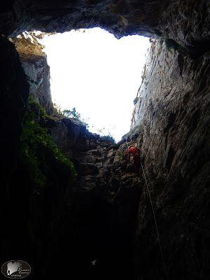 Small cave at mt Paggaio, Macedonia, Greece