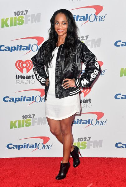 Rachel Lindsay Photos - Rachel Lindsay attends 102.7 KIIS FM's Jingle Ball 2017 presented by Capital One at The Forum on December 1, 2017 in Inglewood, California. - 102.7 KIIS FM's Jingle Ball 2017 - Arrivals