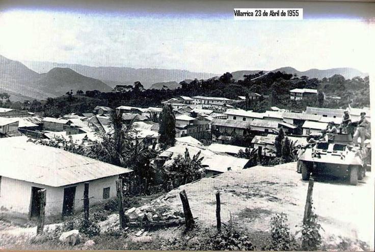 Otra foto antigua de Villarrica Tolima, del año 195...tiempo de la violencia