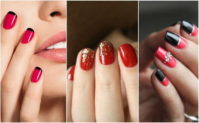 Modny manicure: GALERIA najlepszych czerwonych paznokci z wzorami