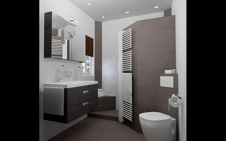 Kleine badkamer voorbeelden google zoeken badkamer pinterest met - Deco kleine badkamer met bad ...