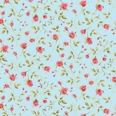 Papel de Parede Autocolante - Floral  226