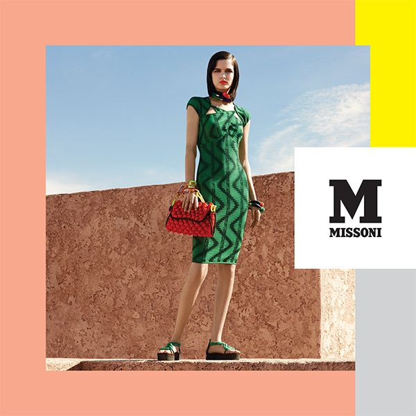 #MMissoni Advertising Campaign | Spring Summer 2014