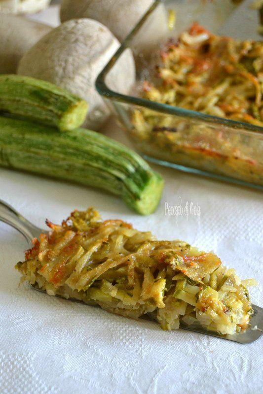 #Secondo piatto di #patate e #zucchine a fiammifero