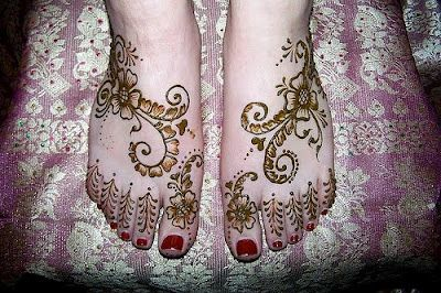 Temporary Henna Tattoos-Tattoos On Foot For Women ~ Tattoo Pictures