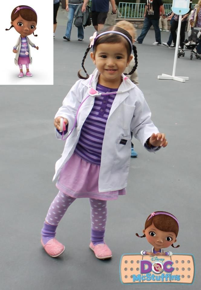 Doc Mcstuffins costume Possible 2013 Halloween!!! wow this little girl looks like my niece... could be her twin. crazy