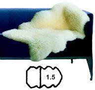 Sheepskin Rug - Bowron Gold Star -  Size 1.5 | Shop New Zealand