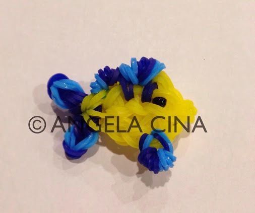 Rainbow Loom Flounder From The Little Mermaid