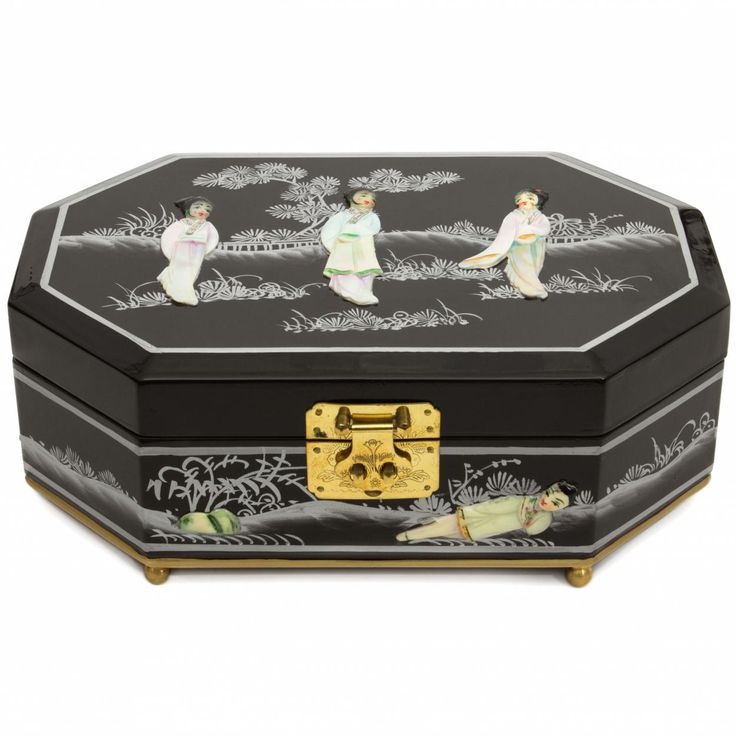 Violetta Jewelry Box from Oriental Furniture