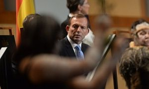 "From Theguardian.com Tony Abbott, the former Prime Minister of Australia, said that the Australian government would not be supporting 150 remote Aboriginal villages, because of the ""lifestyle choices"" they make."