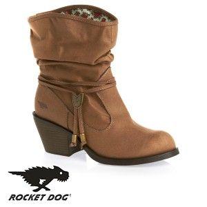 Rocket Dog Reed Rider Boots - Tan