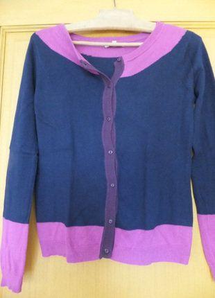 À vendre sur #vintedfrance ! http://www.vinted.fr/mode-femmes/gilets/26505001-gilet-naf-naf-bleu-marine-et-rose