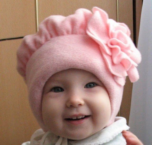 Boina infantil com molde - Como Fazer 8f119658bdf