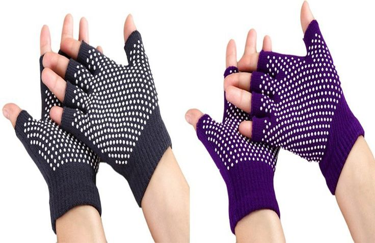 Zaptex Soft Yoga Gloves Non-Slip Fingerless Design Pack of 2 (C). Yoga Cotton Gloves. Have a fun shopping experience with Zaptex. MATERIAL - Made of 80% acrylic,20% lycra; Machine wash in cold water and lay flat to air dry. SIZE - A soft cotton blend stretches to fit various hand sizes and comes in 5 color options to suit your style. FUNCTION - Design for yoga, increases stability during yoga to help you maintain balance and hold your poses without slipping. PACKAGE - Pack of 2, Zaptex...