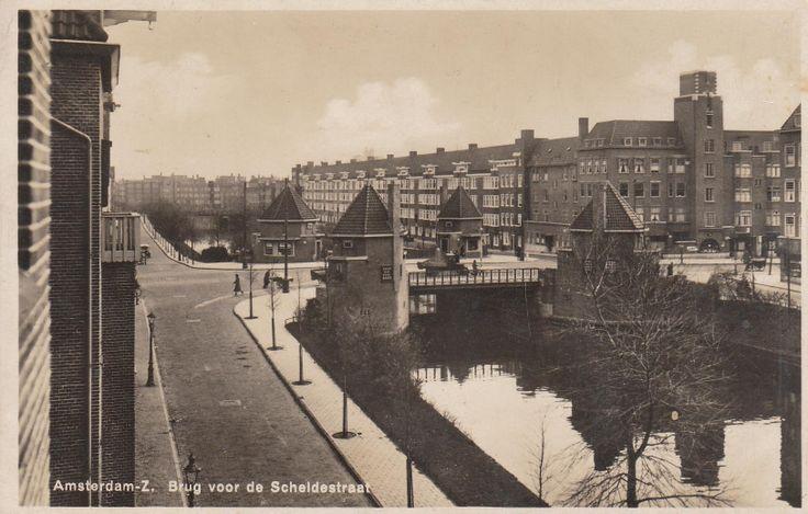 De brug bij de scheldestraat