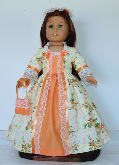 Mellon and cream Tea dress Created for by MargaretteDesigns4AG