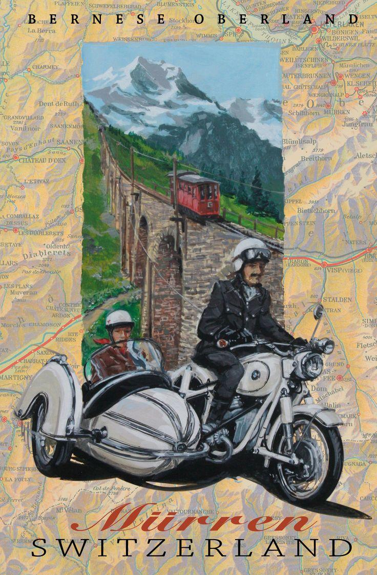 Murren switzerland bmw r60 steib sidecar dennis simon more art at centuryofspeed