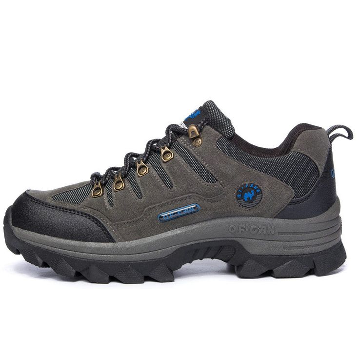 Men's Outdoor Hiking Shoes Comfortable Lightweight Trekking Shoes 39-44 ( Color : Gray  Size : 39 )