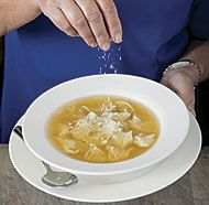 Traditional Italian Food Recipe for Christmas - Tortellini in Brodo