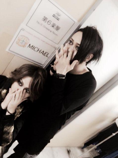 Mizuki(Sadie) Tatsurou(Mucc)