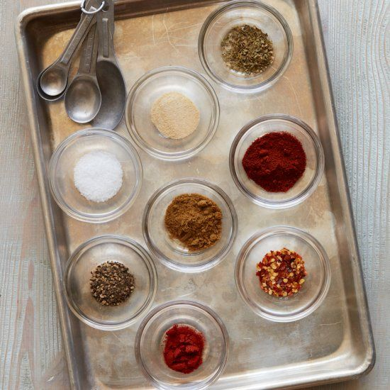 This DIY Taco Seasoning is not only delicious but it's super easy to make with spices we all probably have in our pantry already!