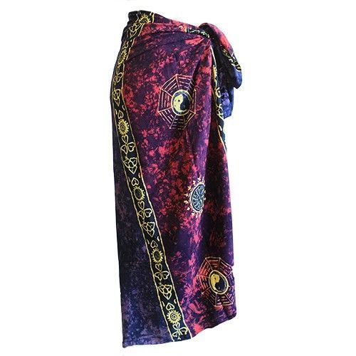 Bali Celtic Sarongs - Yin and Yang | Hip Angels #Wholesale_Sarongs #Sarongs_Sarongs #Summer_Sarongs #Best_Sarongs #Cheap_Sarongs #Hip_Angels