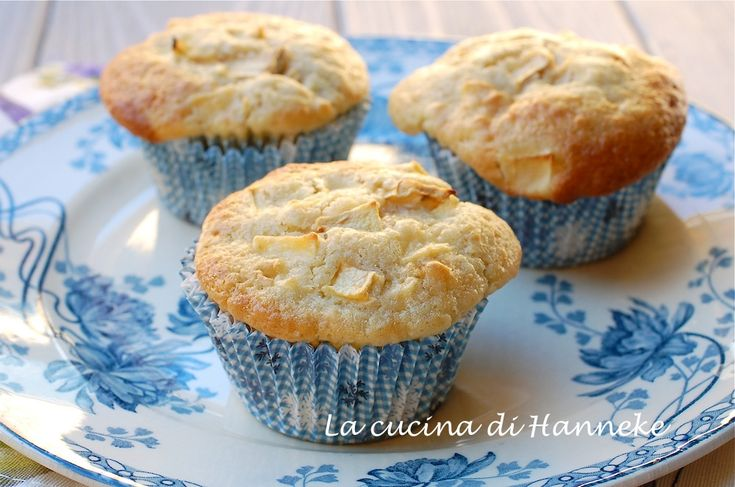 muffins with apples and raisins - muffin alle mele e uvetta