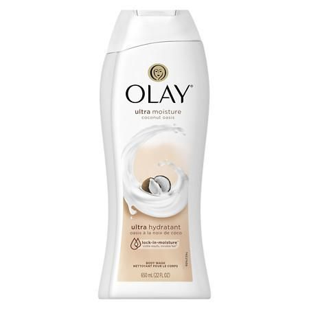 Olay Ultra Moisture Coconut Oasis Body Wash,22 oz - 22 oz.