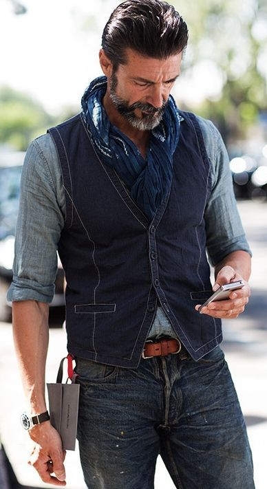 Nice! Well put together outfit for a man! :) (side note he reminds me of my father-in-law back in the day)