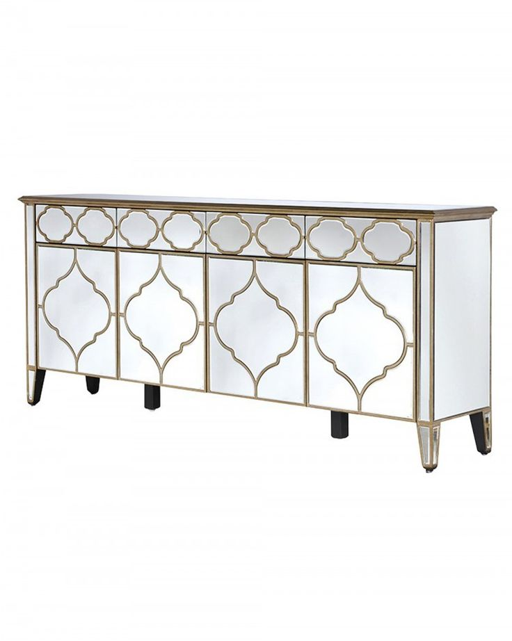 mirrored sideboard table best 25 mirrored sideboard ideas on 4166