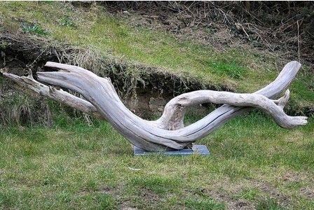 124 best landscape garden images on pinterest Driftwood sculptures for garden