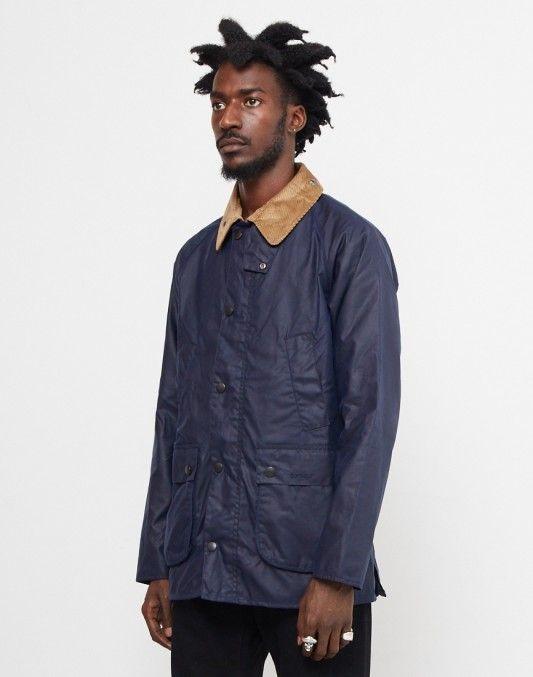 Barbour Bedale Wax Jacket Blue
