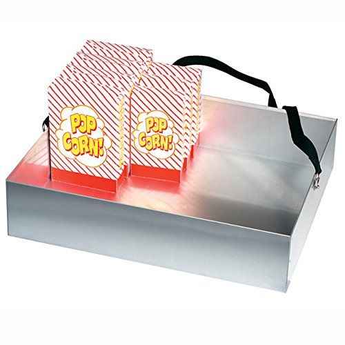 Gold Medal Corn Vendor Tray, Holds 40 Boxes Of Popcorn With Strap 2048