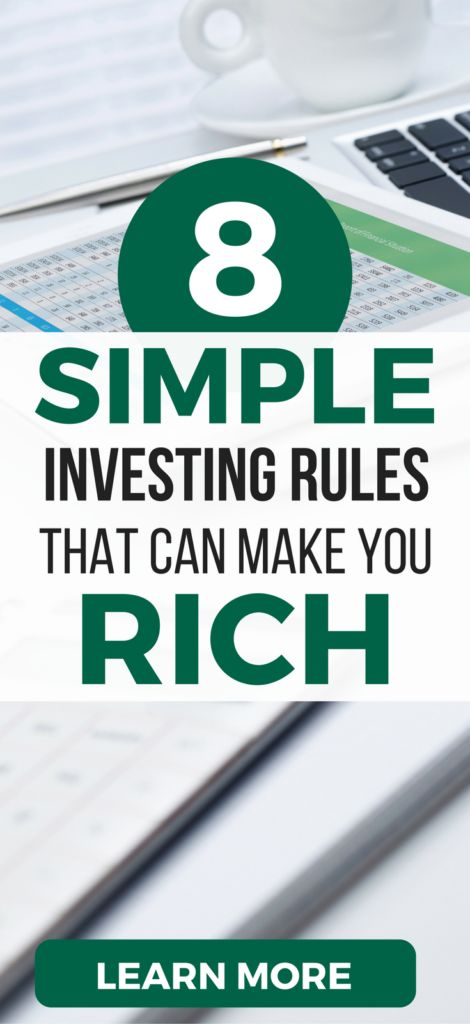 6 rules for investing in stocks pdf