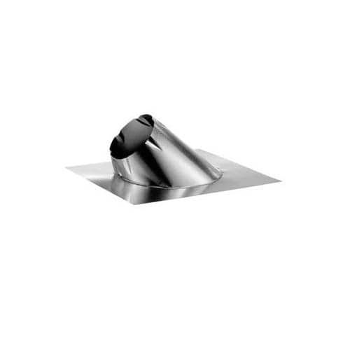 DuraVent 6DT-F12L 6 Class A Chimney Pipe Large Base Adjustable Roof Flashing fo, Blue storm