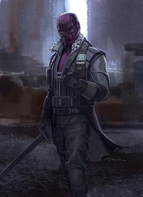 Captain America: Civil War Character Concept Art: Baron Zemo - Andy Park