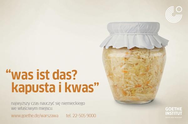 campaign for Goethe-Institut Warsaw  September 2012