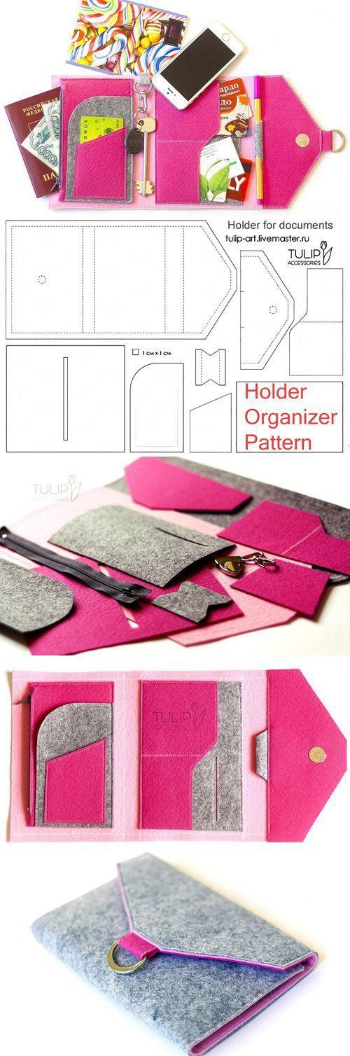 DIY Wallet Organizer