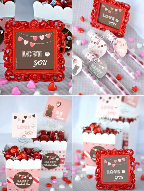 Bird's Party Blog: Quick and Easy DIY Valentine's Day Gifts