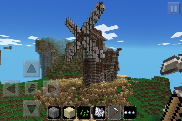 For those of you who have seen the Keralis Windmill & bakery, this is my minecraft pocket edition rebuild :)