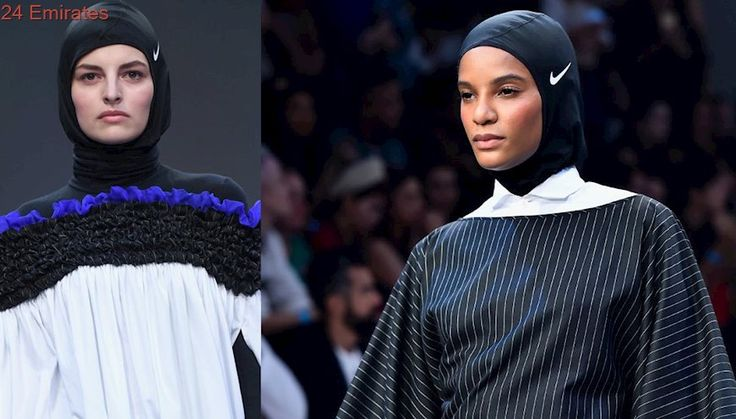 Nike's sports hijab made its big debut on this Dubai catwalk...