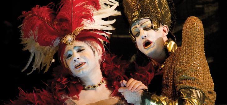 Franco Fagioli (countertenor, b. 1981) as Arbace & Max Emanuel Cencic (countertenor, b. 1976) as Mandane in Vinci's Artaserse (Nancy 2012)