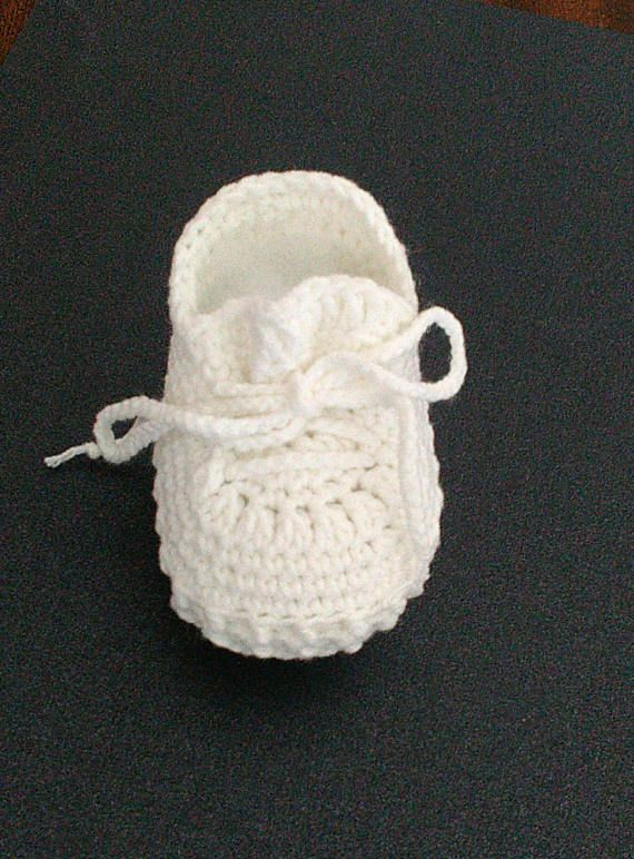 Crochet baby booties Yeezy boost 350 shoes White baby shoes